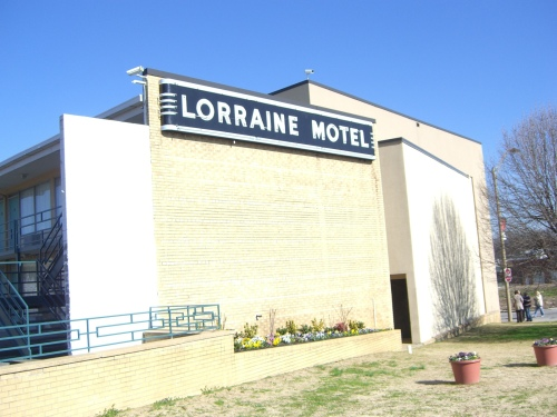 The Lorraine Hotel/National Museum of Civil Rights in Memphis, TN.